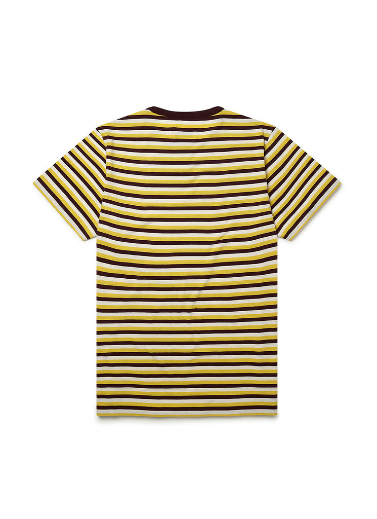Fletcher Stripe T-Shirt in Jojoba