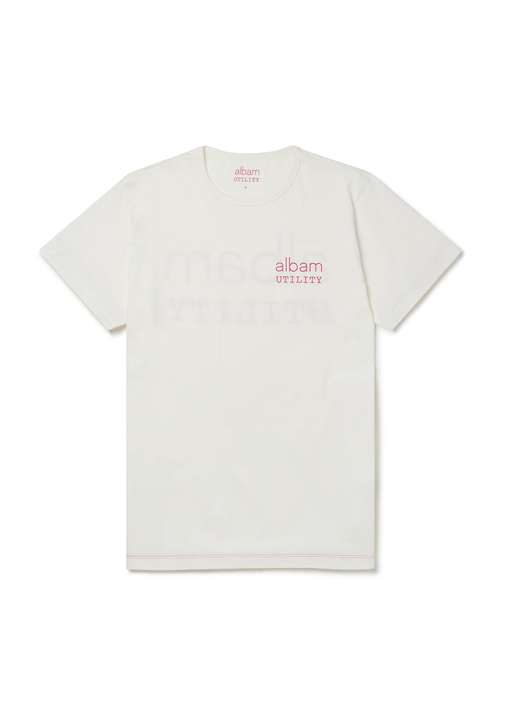 Utility Graphic T-Shirt A in White