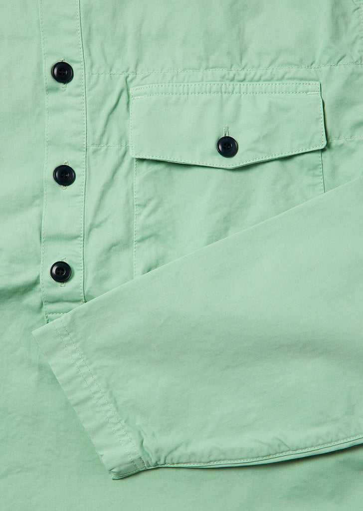 Tactical Shirt in Faded Jade