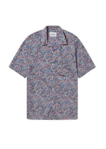 Thompson Print Shirt in Multi