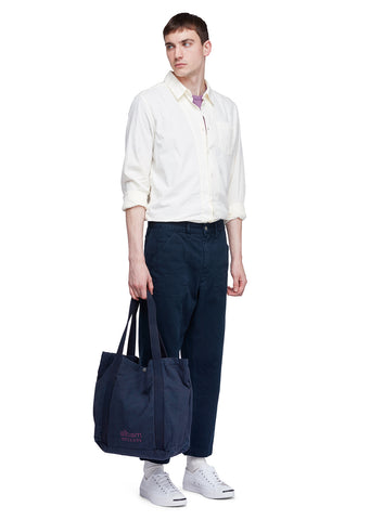 Utility Factory Tote in Navy