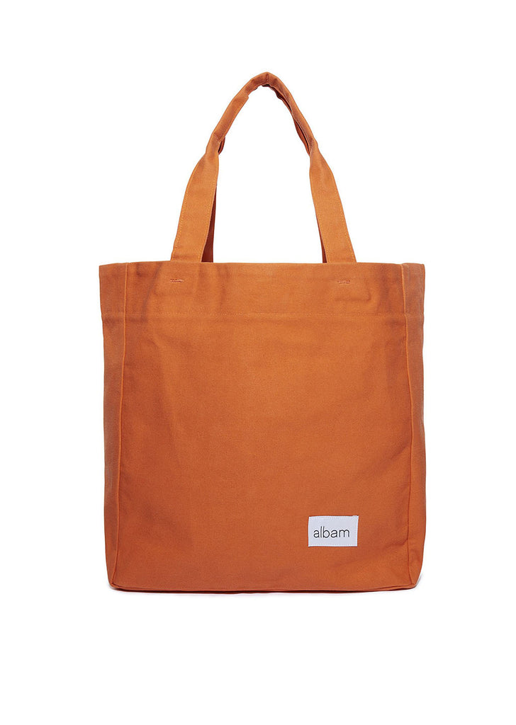 Canvas Tote in Orange