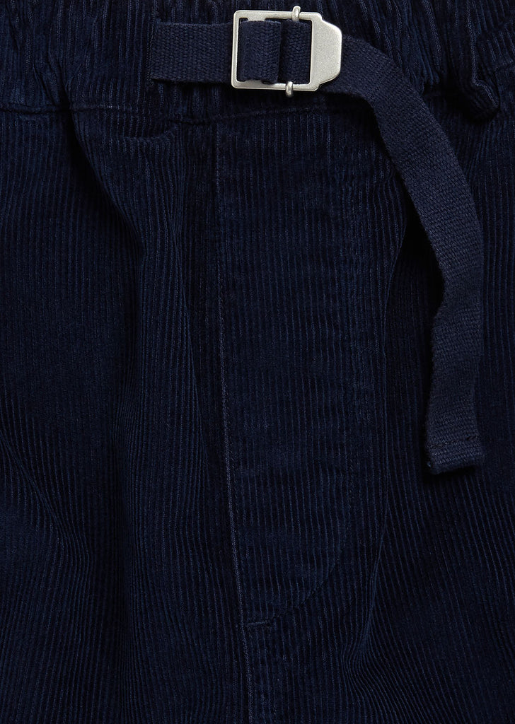 Gd Cord Trouser in Navy