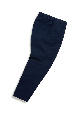 Ripstop Drawstring Trouser in Navy