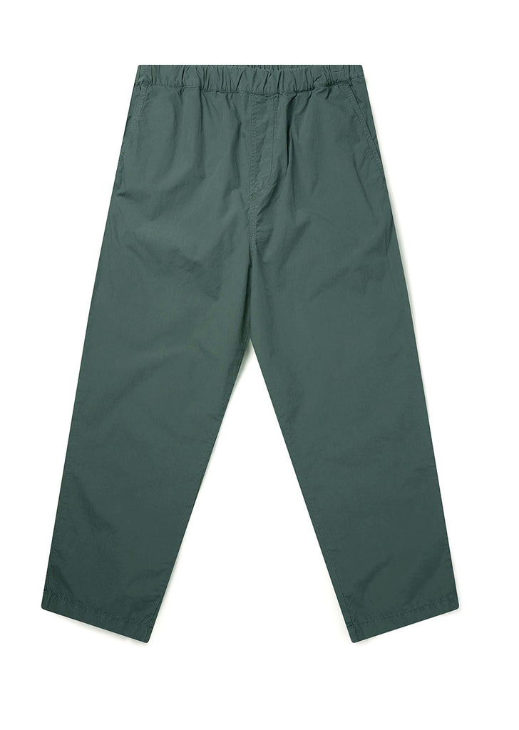 Havana Drawstring Trouser in Seaweed Green