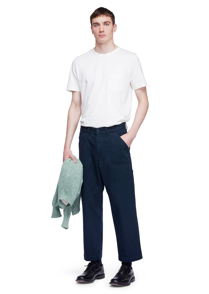 Utility Loose Work Trouser in Navy