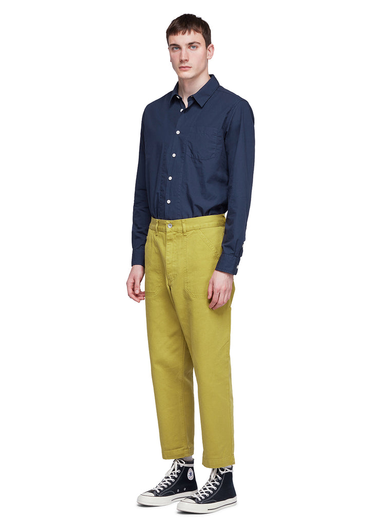 Utility Slim Work Trouser in Tobacco