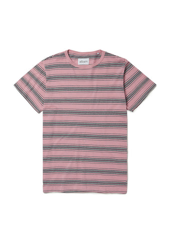 12df6486b4 Vintage Stripe T Shirt in Dusty Cedar