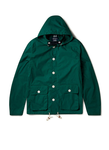 Fishermans Cagoule X End Jacket in Green