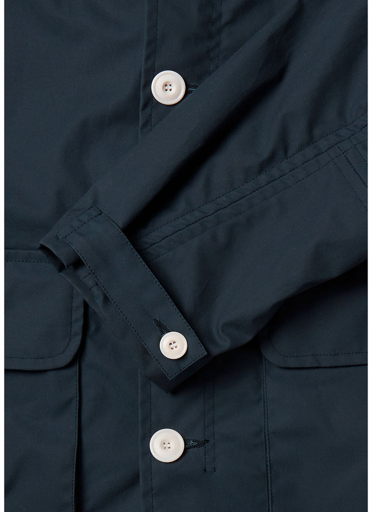 Fishermans Cagoule X End Jacket in Navy