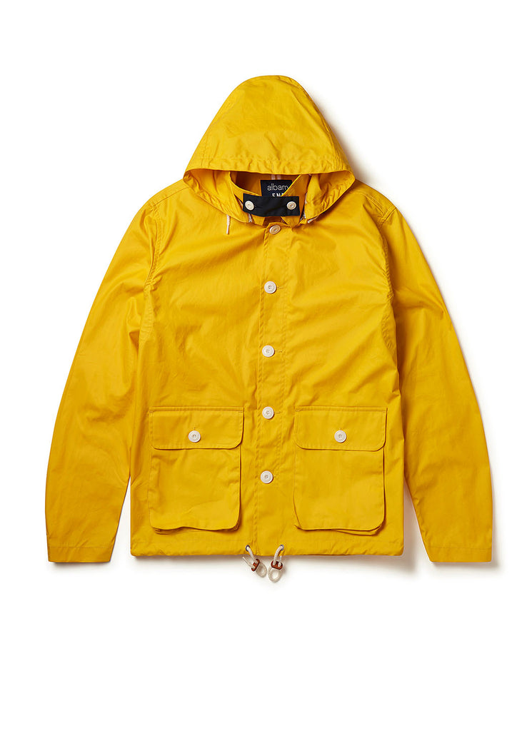 Fishermans Cagoule X End Jacket in Yellow