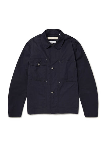 Mechanics Coverall Jacket in Dark Navy