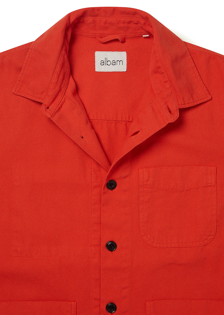 Foundry Shirt in Red