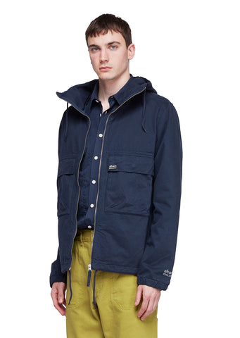 Utility Twill Cagoule in Navy
