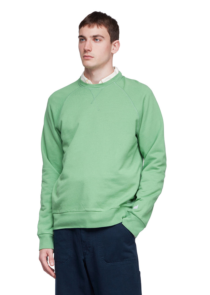 Utility Raglan Sweatshirt in Green