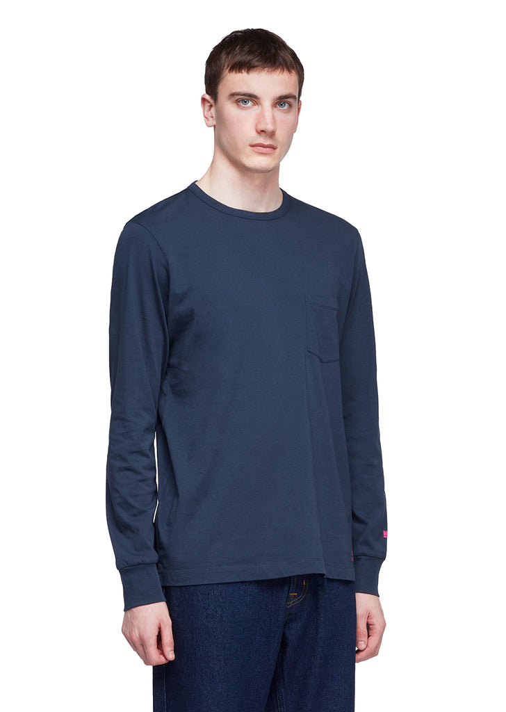 Utility Long Sleeve T-Shirt in Navy