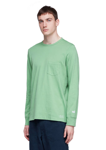 Utility Long Sleeve T-Shirt in Green