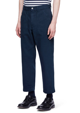 Utility Slim Work Trouser in Navy