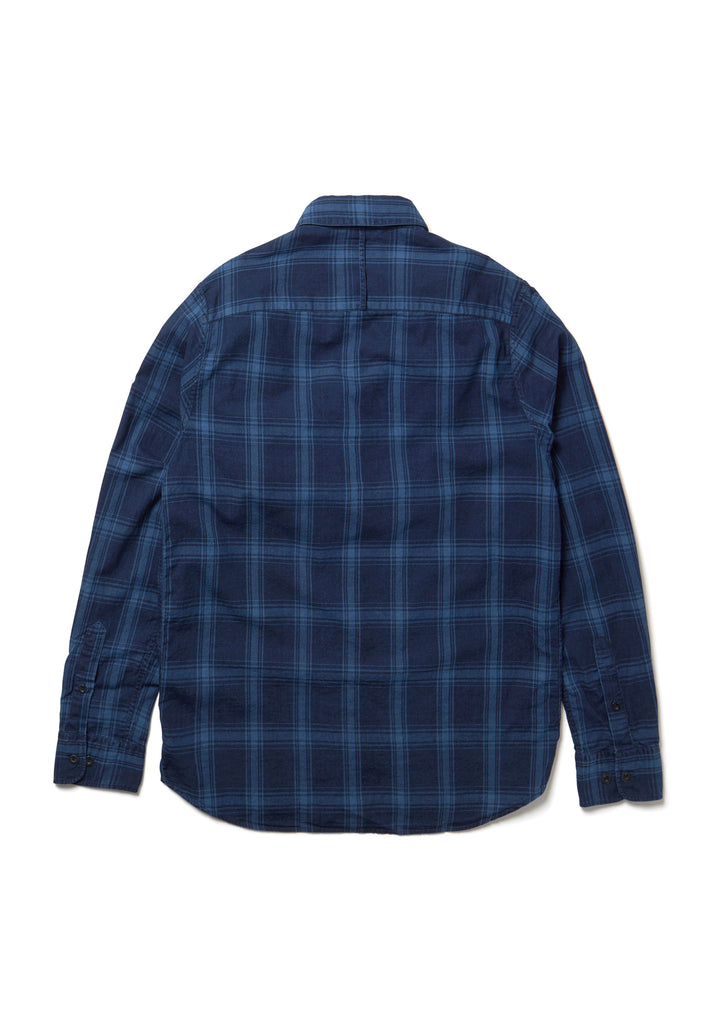 Easy Shirt in Indigo Check