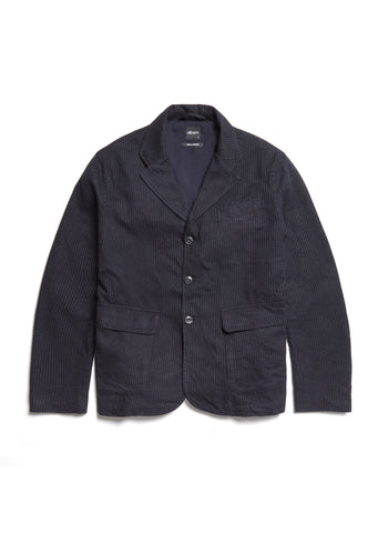 Factory Blazer in Navy Blue Stripe