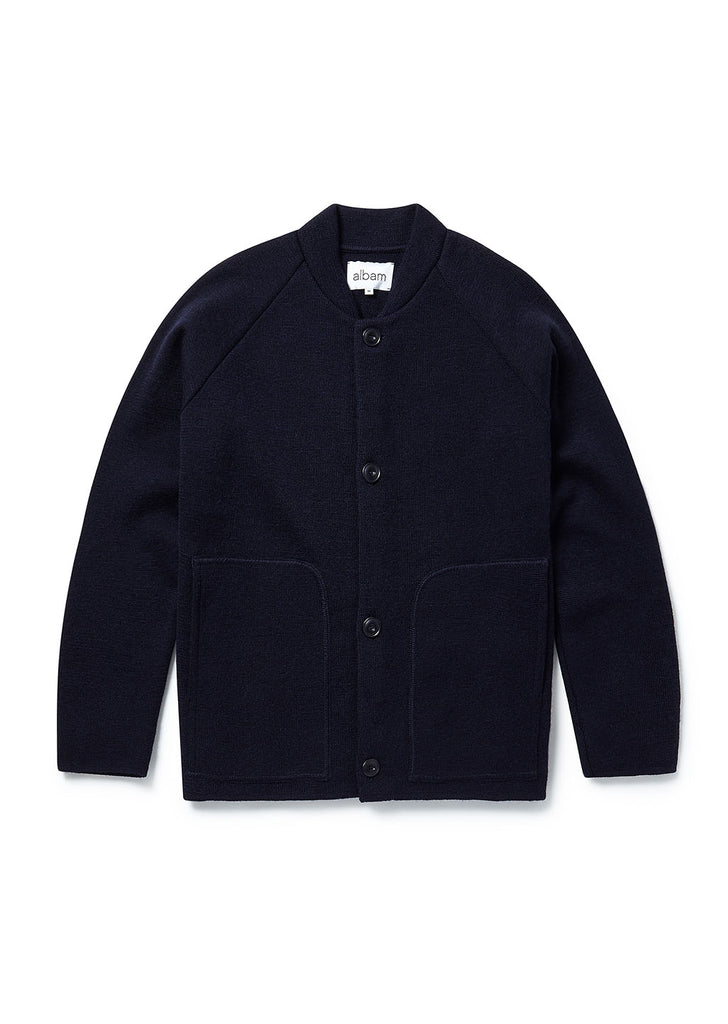 Milano Coach Jacket in Navy