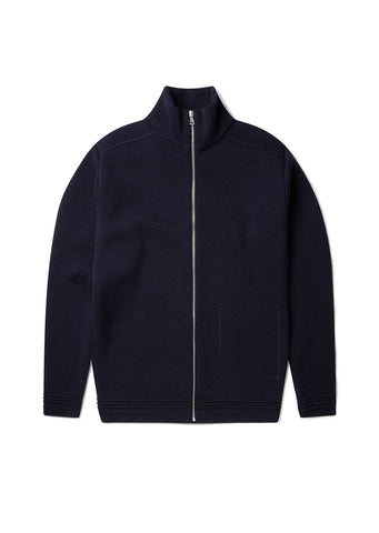 Milano Zip Through in Navy
