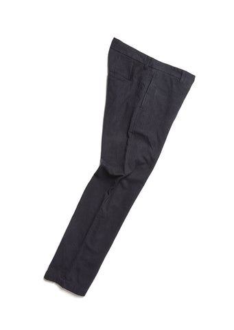 Factory Trouser in Navy Blue Stripe