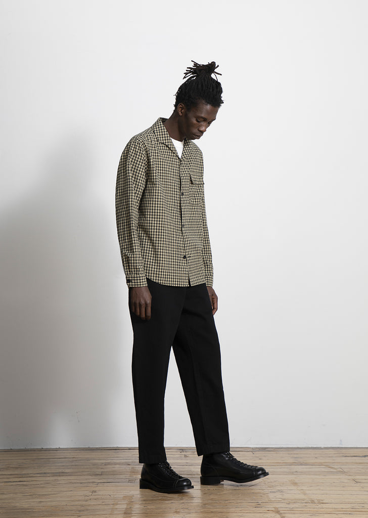 Miles Shirt in Beige Check