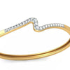 Solid 14K Yellow Gold Bracelet 23 Real Natural Diamonds 0.69cttw - DesignIN