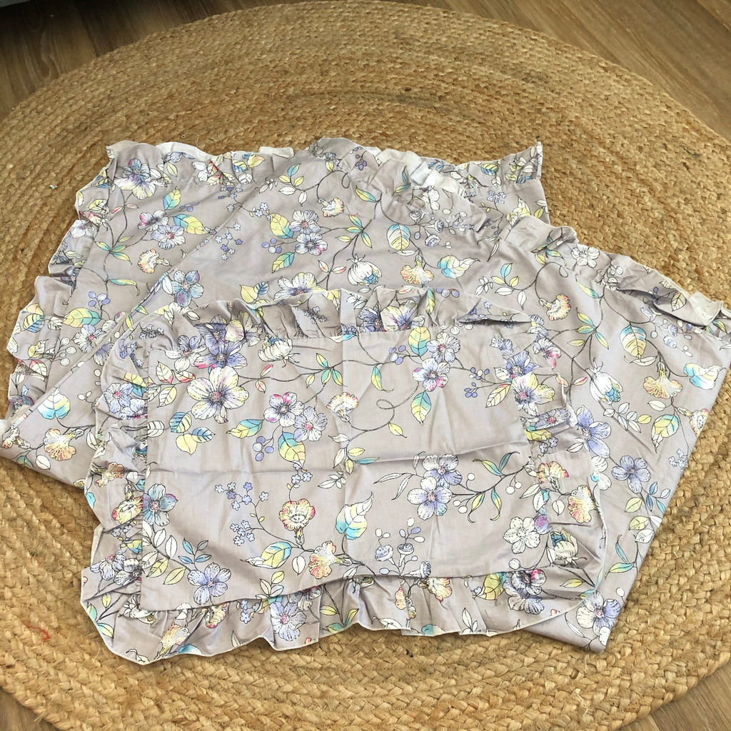 FAULTY Cot Quilt Cover & Pillow Slip Set