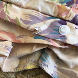 FAULTY Peach Floral Cor Quilt Cover + Pillow Slip Set