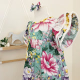 Florence Dress in Eden Floral Print