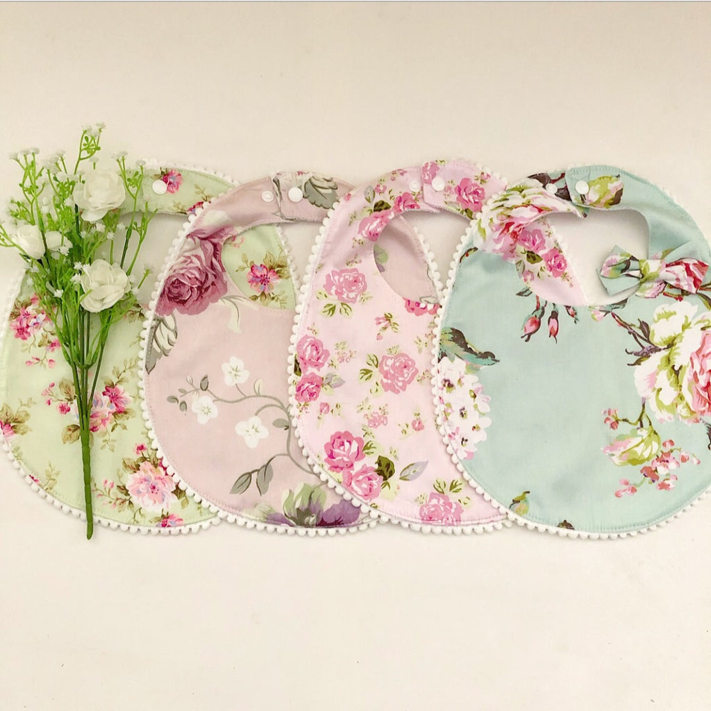 Current Spring Collection Pom Pom Trim Bibs