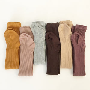 Cotton Rich Earthy Tone Winter Tights