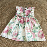SECONDS- Bessie dress in Vintage Valerie SZ4-5Y