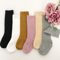 Thick Warm Ribbed Long Cotton Socks 0-3Y