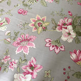 Fitted Cot Sheet in 'Tahlia' Batik Hibiscus Print