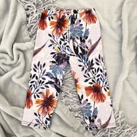Thick stretch Slim Cut Leggings in Trixie Print