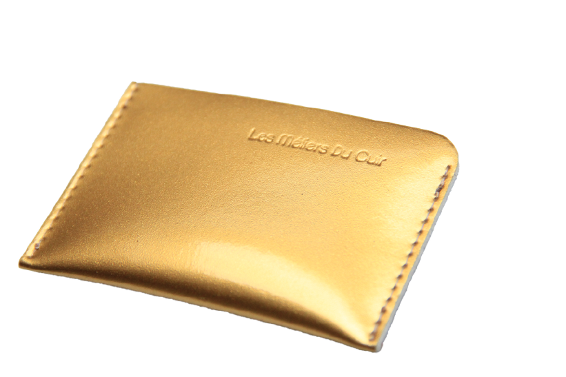 Card wallet patent Gold