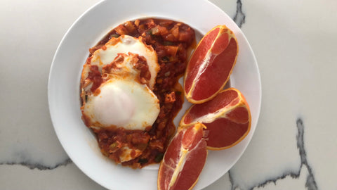 Savory Eggs in Tomato Sauce