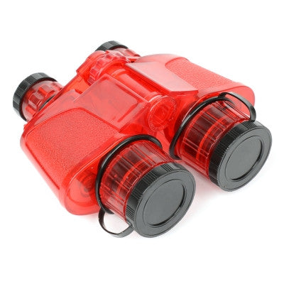Red Translucent Binocular - Little Whale