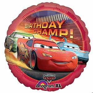 Cars Birthday Champ - Little Whale