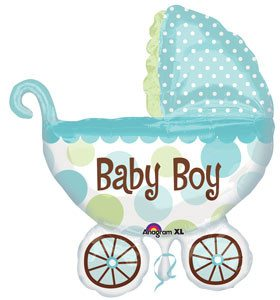 Baby Buggy Boy - Little Whale