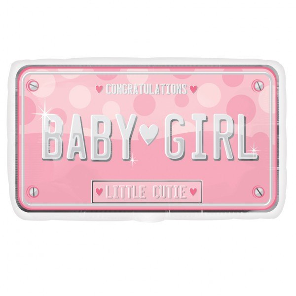 Baby Girl License - Little Whale