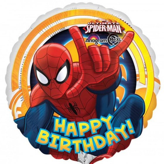 Spiderman Happy Birthday - Little Whale