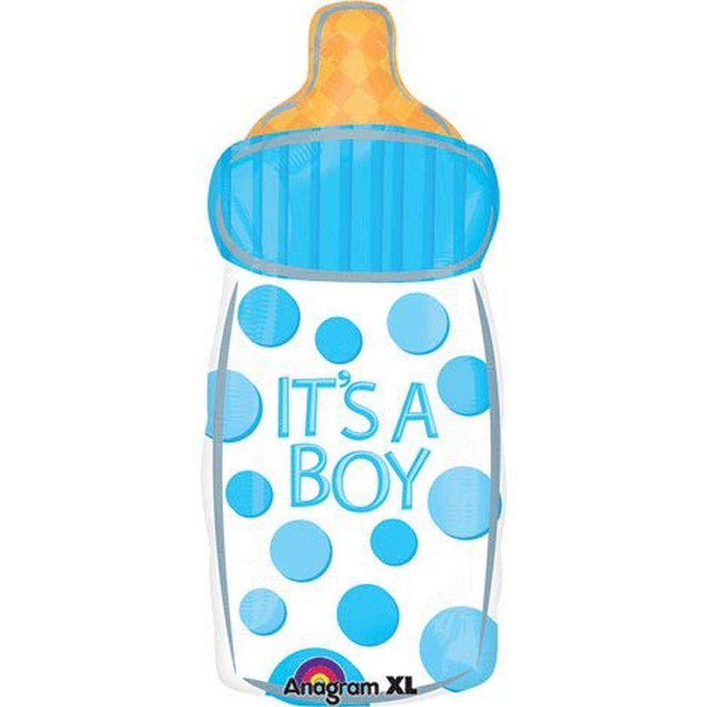 It's A Boy Baby Bottle - Little Whale