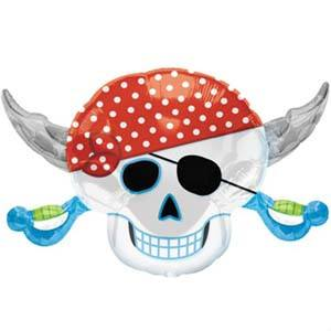Pirate Skull - Little Whale