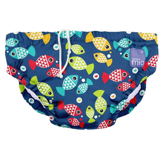 Swim Nappies Large (9-12kgs) - Aquarium - Little Whale