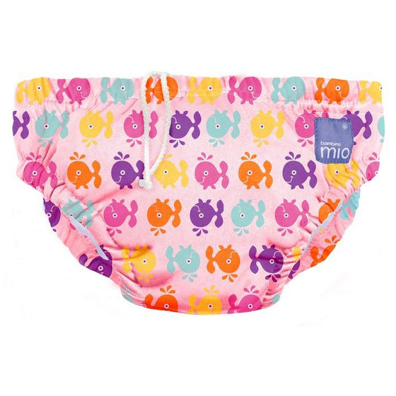 Swim Nappies Large (9-12Kgs) - Pink Whale - Little Whale