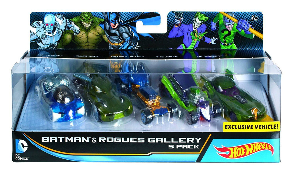 Batman and Rouges Gallery 5 Pack - Little Whale